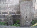 日先大神道と地蔵尊の道標