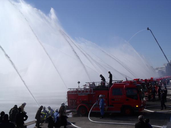 土浦市消防出初式