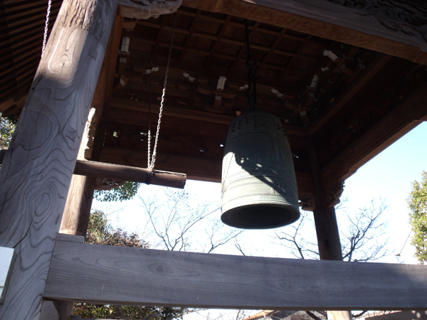 銅鐘(等覚寺)