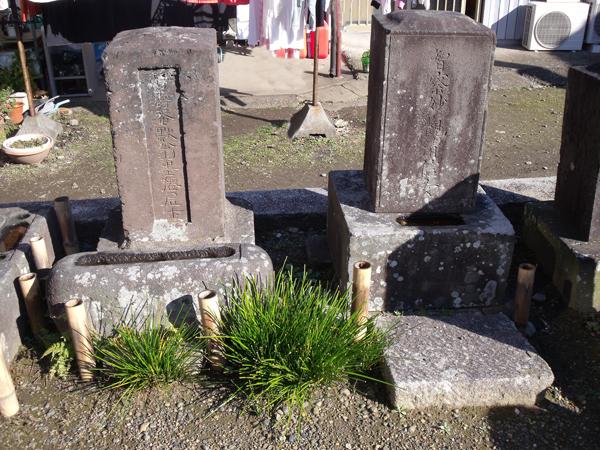 沼尻墨僊の墓