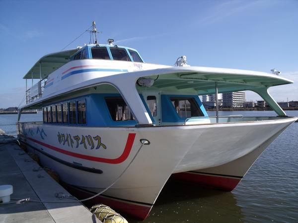 遊覧船ホワイトアイリス号